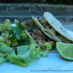 Simple Chicken Tacos