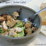 Lemon Pepper Chicken Salad