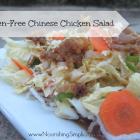 Gluten-Free Chinese Chicken Noodle Salad