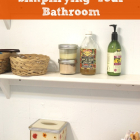 How to Start Simplifying Your Bathroom