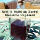 How to Build an Herbal Medicine Cupboard