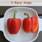 How to Roast Peppers in 5 Easy Steps