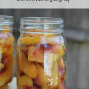 How to Can Peaches in a Simple Honey Syrup