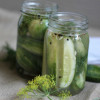 Old-Fashioned Dill Pickles