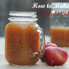 How to Make Fresh Apple Cider