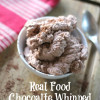 Real Food Chocolate Whipped Cream