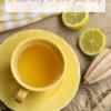 Warm Vanilla Lemonade