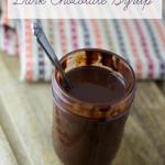 Homemade Dark Chocolate Syrup