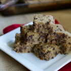 Soaked Oatmeal Chocolate Chip Cookie Bars
