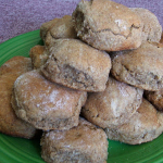 Soaked Rye Biscuits