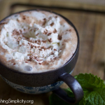 A Sweet Winter Treat: Peppermint Mocha (Refined Sugar Free with Dairy Free and Vegan Options)