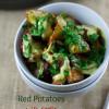Red Potatoes with Garlic and Spanish Chorizo