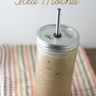 Real Food Iced Mocha