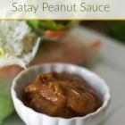 Thai Satay Peanut Sauce