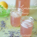 Lavender Lemonade with Raw Honey