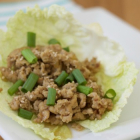 Sesame Chicken Lettuce Wraps