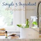 Simple 3 Ingredient All-Purpose Cleaner