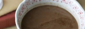 Raspberry Hot Cocoa Dairy-free- www.nourishingsimplicity.org