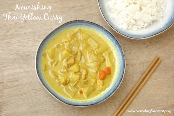 Nourishing Thai Yellow Curry- www.nourisingsimplicity.org