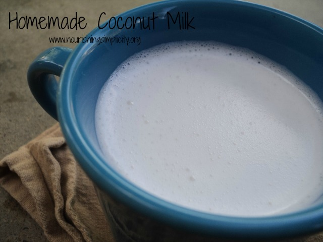 How to Make Coconut Milk, The Easy Way