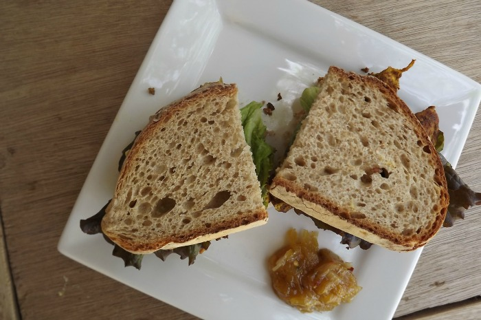 Tandoori Chicken Sandwich With Mango Chutney