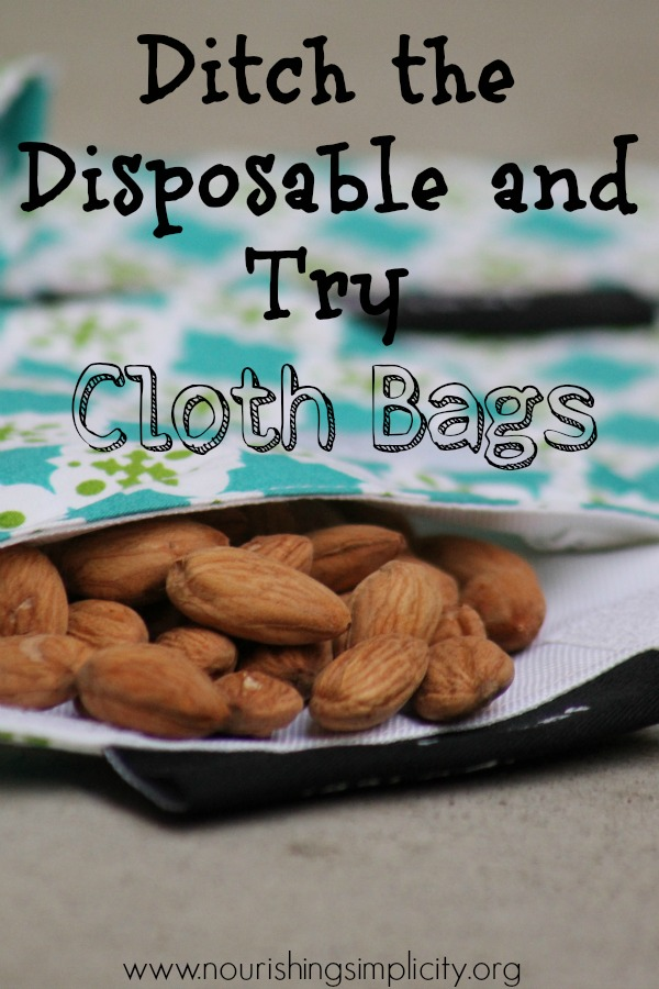 So Long Disposables, Hello Cloth Bags! {How to Switch to Cloth Bags}