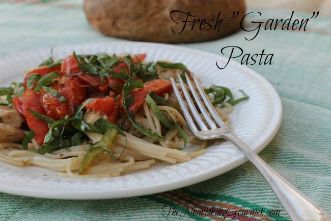 """Fresh """"Garden"""" Pasta"""
