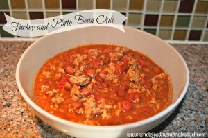 Turkey and Pinto Bean Chili