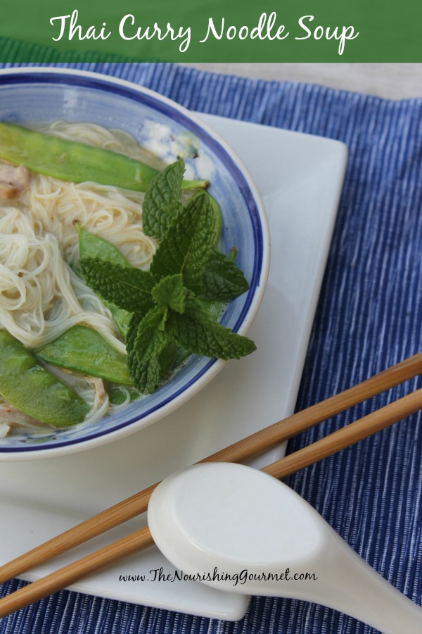 Easy Thai Curry Noodle Soup