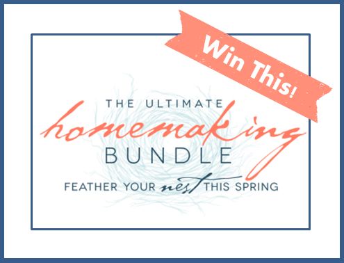 ultimate homemaking bundle facebook giveaway