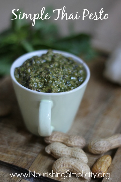 Simple Thai Pesto