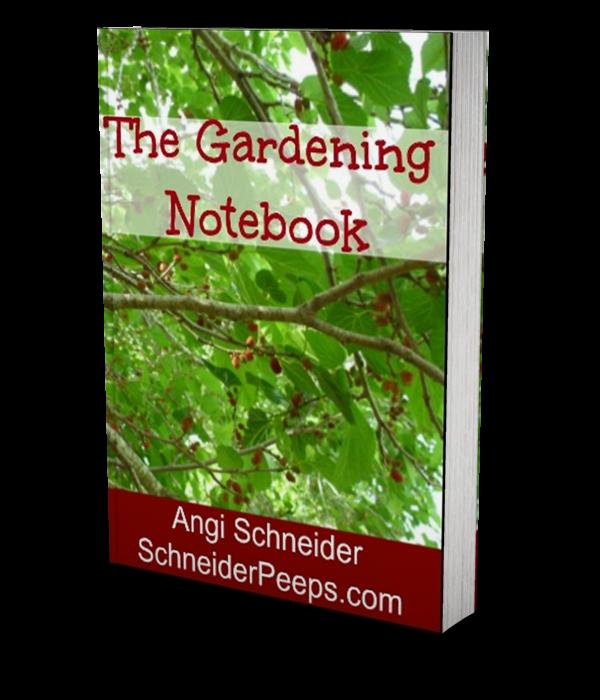 Gardening-Notebook