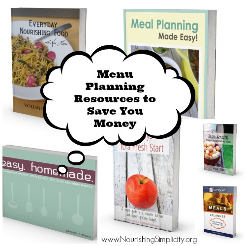 Menu Planning Resources to Save You Money
