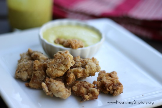 Nourishing Homemade Chick-fil-A Nuggets