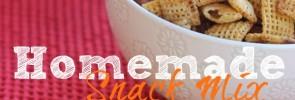 Homemade Snack Mix- www.nourishingsimplicity.org