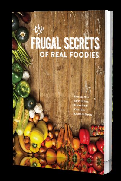 frugal secrets of real foodies