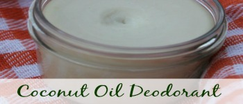 Coconut Oil Deo