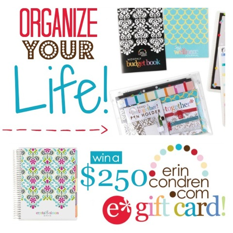 Organize Your Life Giveaway