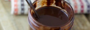 Homemade Dark Chocolate Syrup- www.nourishingsimplicity.org
