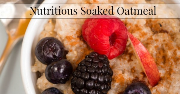 Nutritious-Soaked-Oatmeal