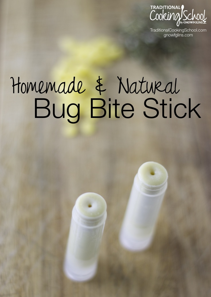 Homemade and Natural Bug Bite Stick