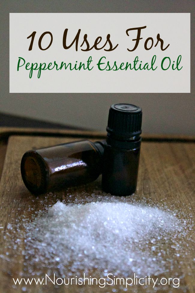 10 Uses for Peppermint Essential Oil-www.nourishingsimplicity.org