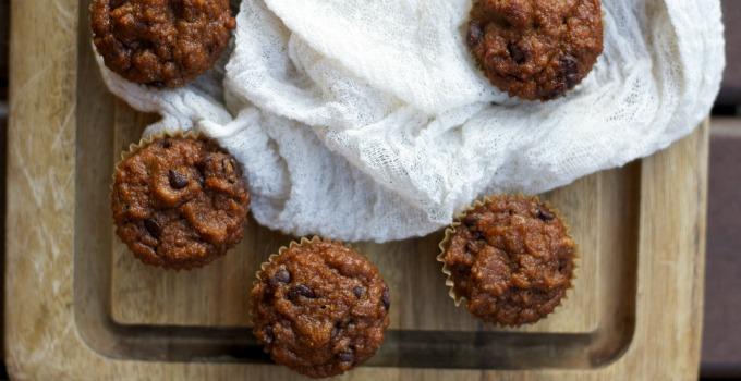 Coconut Flour Pumpkin Muffins-www.nourishingsimplicity.org
