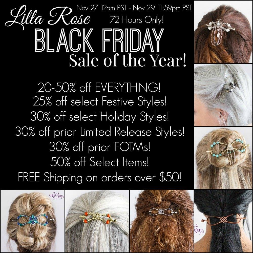 Lilla Rose Black Friday