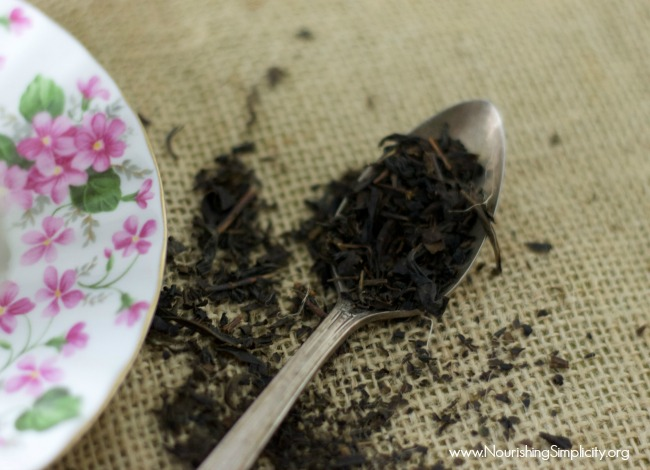 How to Make Earl Grey Tea - www.nourishingsimplicity.org