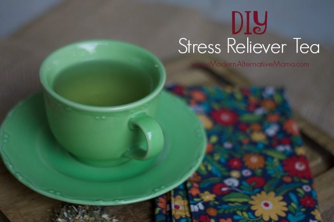 DIY Stress Reliever Tea 1