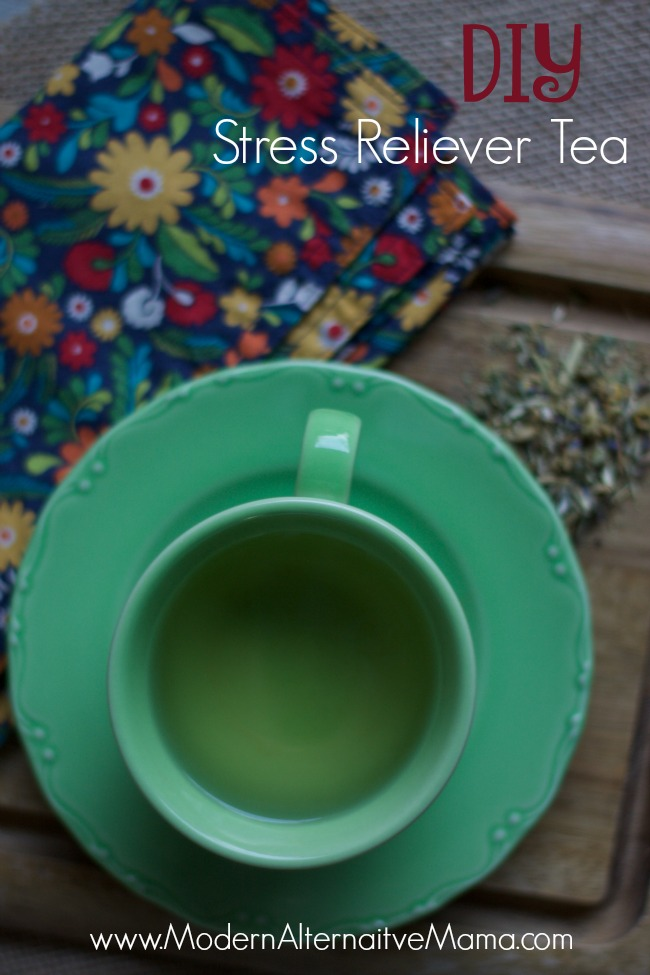 DIY Stress Reliever Tea 2