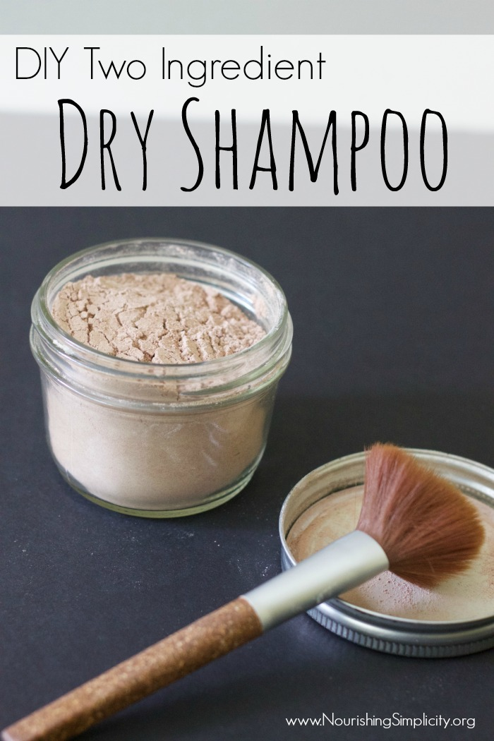 DYI Two Ingredient Dry Shampoo