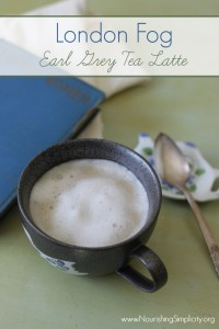 London Fog Latte- www.nourishingsimplicity.org