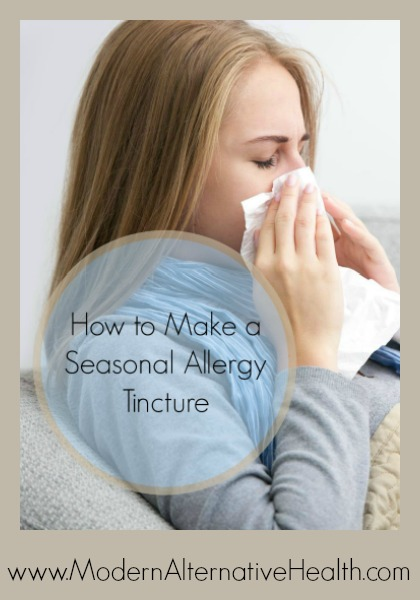 How to Make a Seasonal Allergy Tincture Pintrest